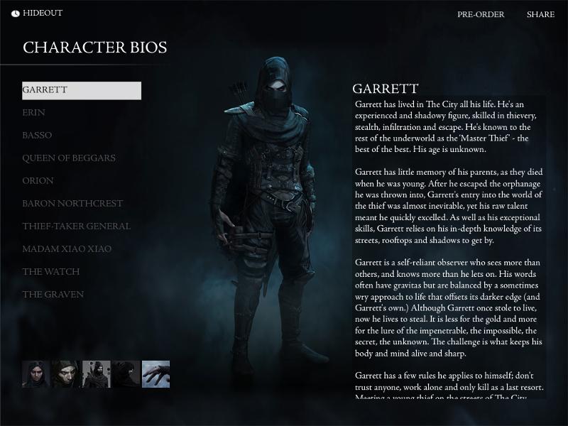 Garrettův životopis